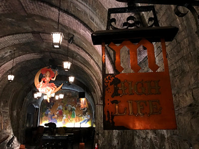 Urban spelunking: Miller Caves