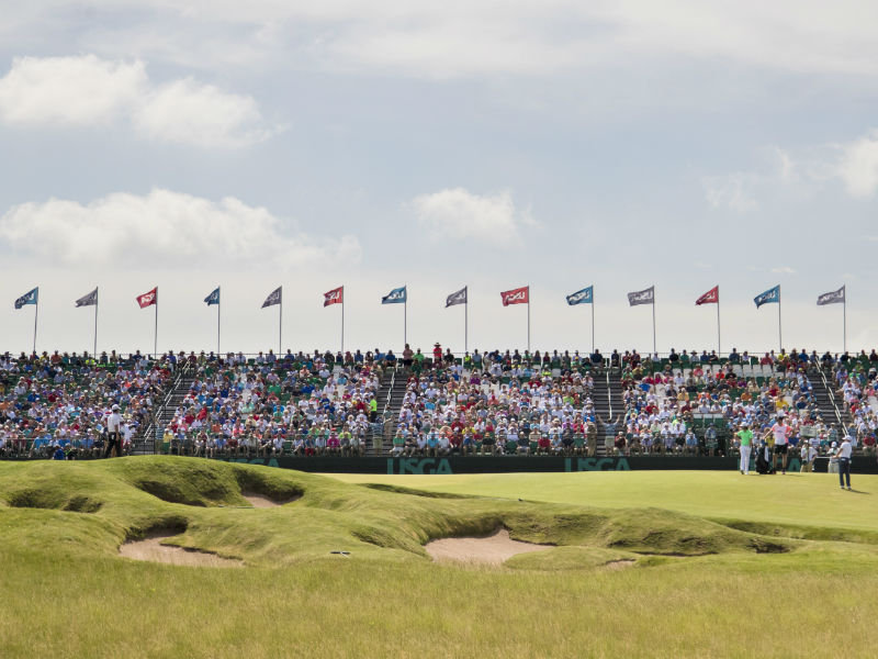 The US Open At Erin Hills Has Had A Bad Start OnMilwaukee - Us open erin hills map