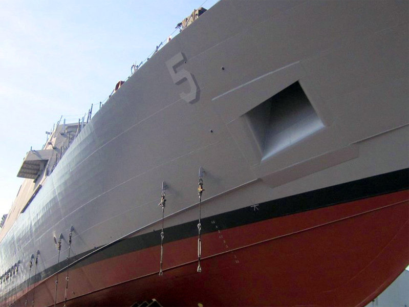 The USS Milwaukee (LCS-5) will be a Freedom-class littoral combat ship of the United States Navy.