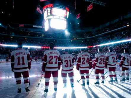 Wisconsin's hockey team opens play in the NCAA tournament this week.