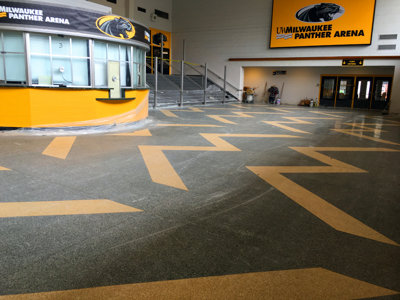 Progress report: More UW-Milwaukee Panther Arena upgrades