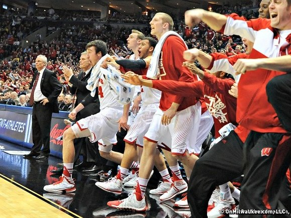 The Wisconsin Badgers are going to the Final Four.