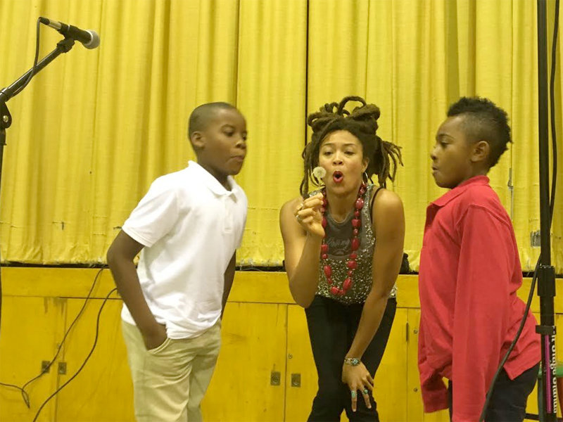 At Turner Hall, Valerie June reunites with friends from MPS' Lancaster School