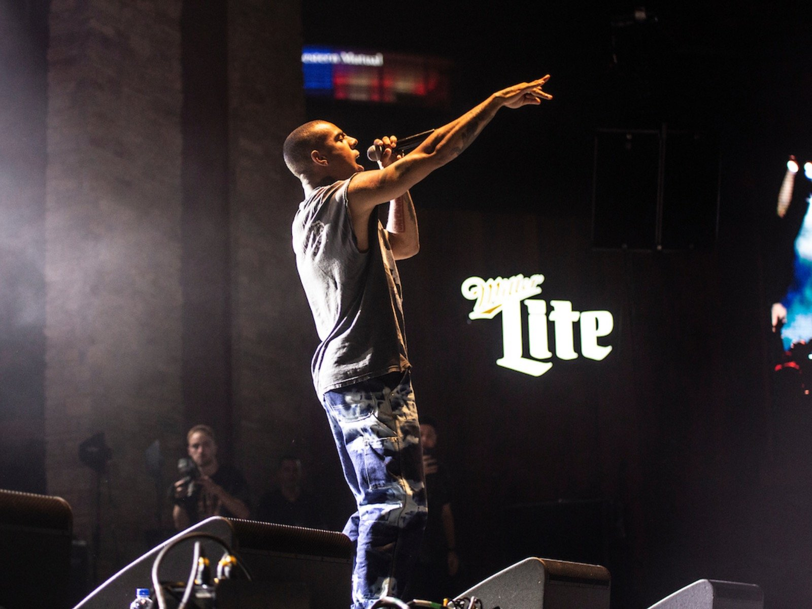 Vic Mensa overcomes a rocky start at his Summerfest debut