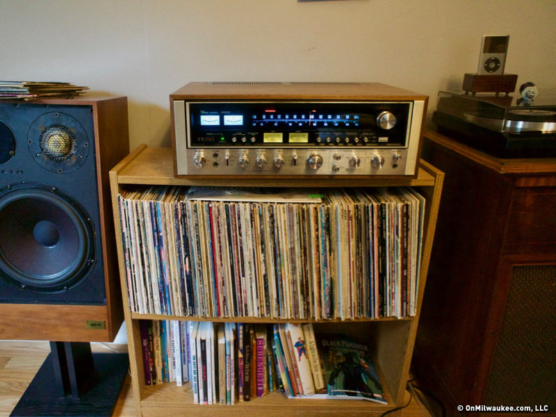 Vintage Stereo Equipment Finds New Life Through Milwaukee