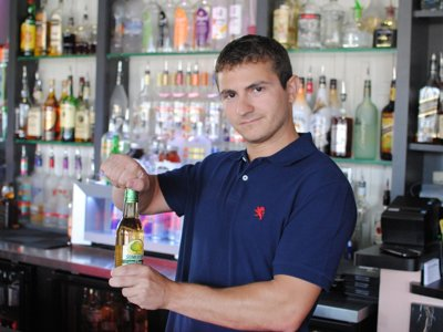 Featured bartender: Brion Sohns at Vitucci's
