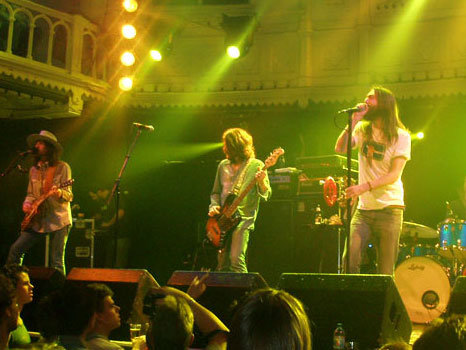 The Black Crowes play the Eagles Ballroom on Sunday night.
