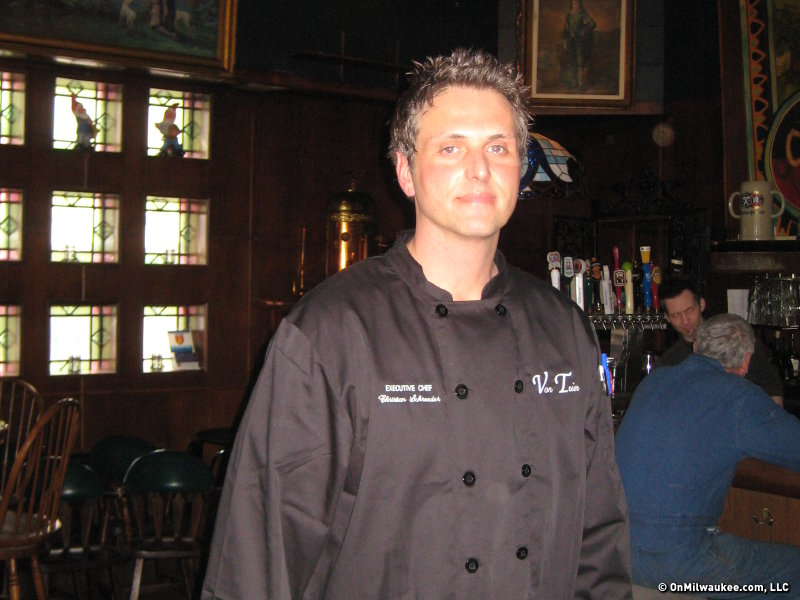 Executive chef Christian Schroeder.