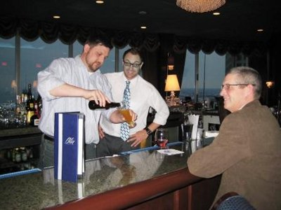 Shift switch: Bartender at Blu