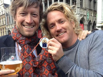 Lowlands Group's Eric Wagner knighted to Belgian Brewers' Guild
