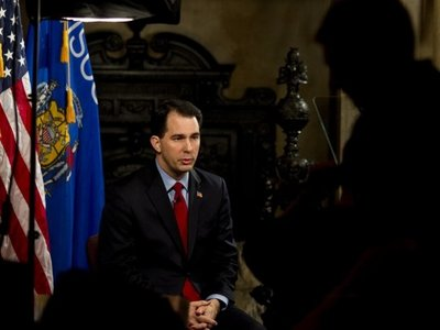 Transcript: Gov. Walker's address Image
