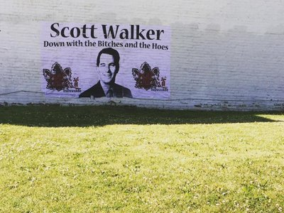 Walker mural controversy Image
