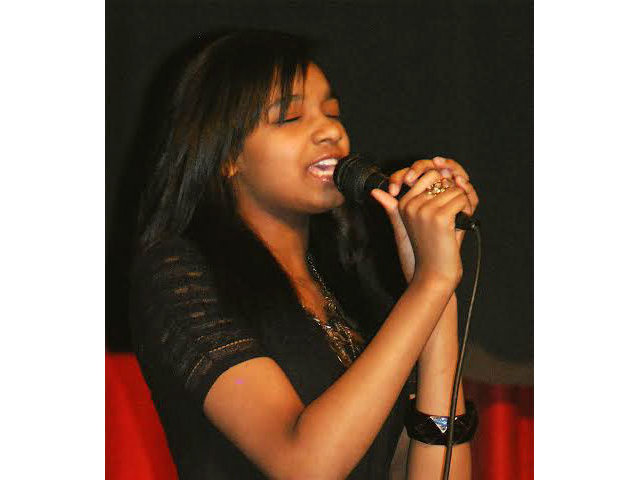 Yalimar Borges, from Hayes Bilingual School, will be the first WAMI Showcase performer to sing a song in Spanish.