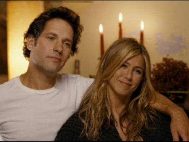 "Paul Rudd and Jennifer Aniston star in ""Wanderlust,"" in theaters today."