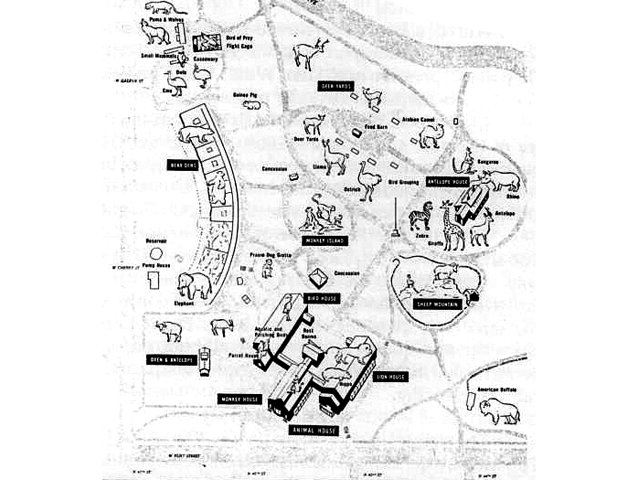 summerfest grounds map. This map shows the grounds,