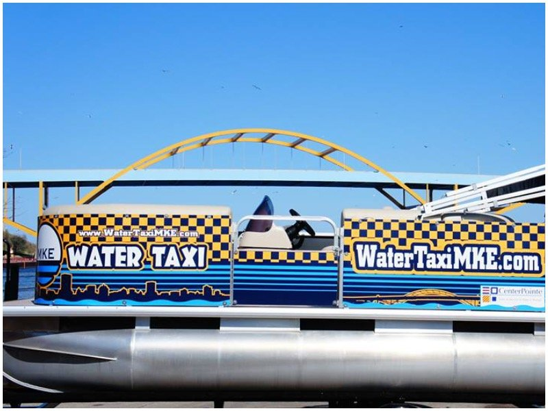 You have a new favorite way to bar-hop: Water Taxi MKE, debuting