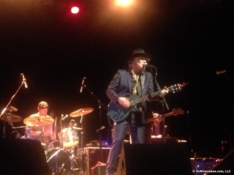 The Waterboys' Mike Scott did not disappoint Wednesday night.