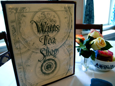 Watts Tea Shop serves tasty food in tranquil setting Image