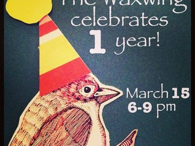 Waxwing turns one