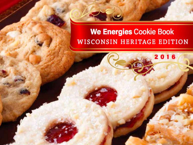we energies christmas cookie book 2015