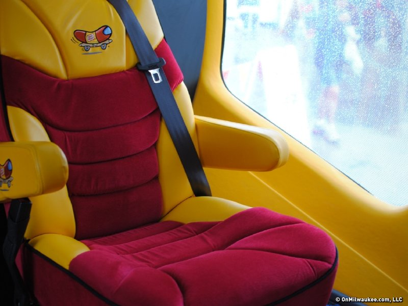 Inside the Oscar Mayer Wienermobile
