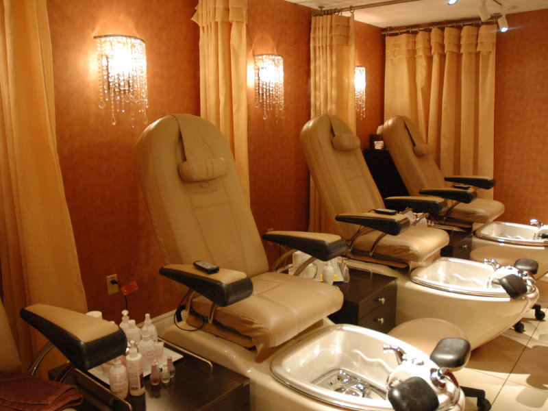 Marketplace pfister 39 s well spa boasts for A little luxury beauty salon