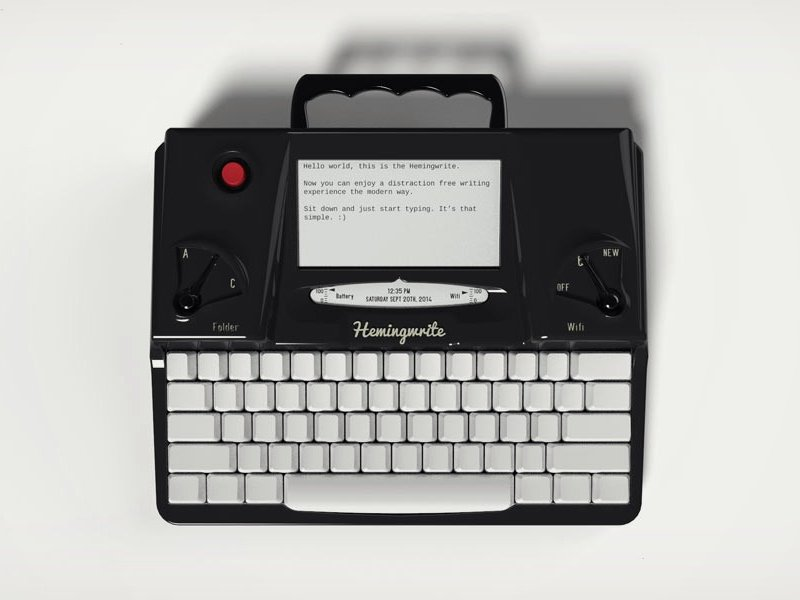 #WeWant Hemingwrite, skinny ties, Gustin and more Image