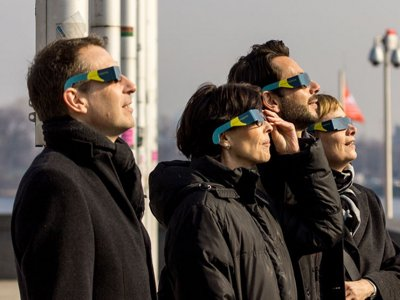 Solar specs: Where to get your eclipse glasses Image