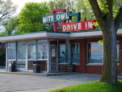 Burgers, ice cream and history make Nite Owl special