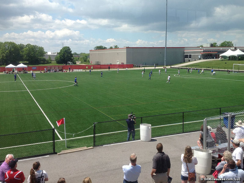 The 2013 WIAA Girls Soccer State Tournament was at Uihlein Soccer Park in Milwaukee.