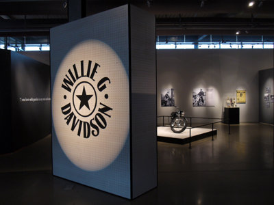 Harley Museum show traces the life and work of Hog icon Willie G. Davidson
