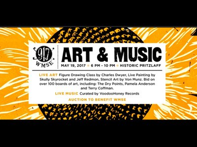 Join WMSE for a night of fun and fundraising at Art & Music