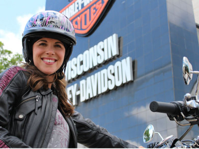 New roads opening for women Harley riders