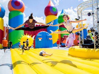 The world's biggest bounce house is coming to Lake Park
