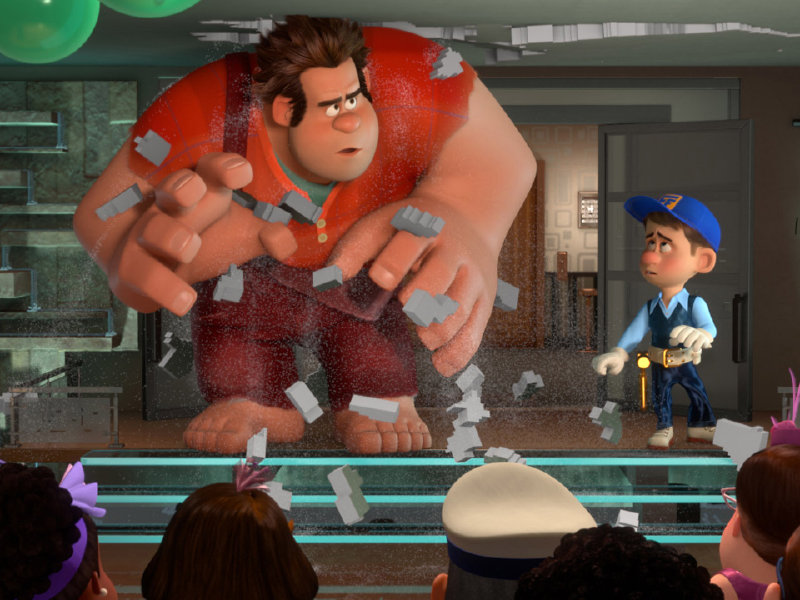"Disney's ""Wreck-It Ralph"" is in theaters now."