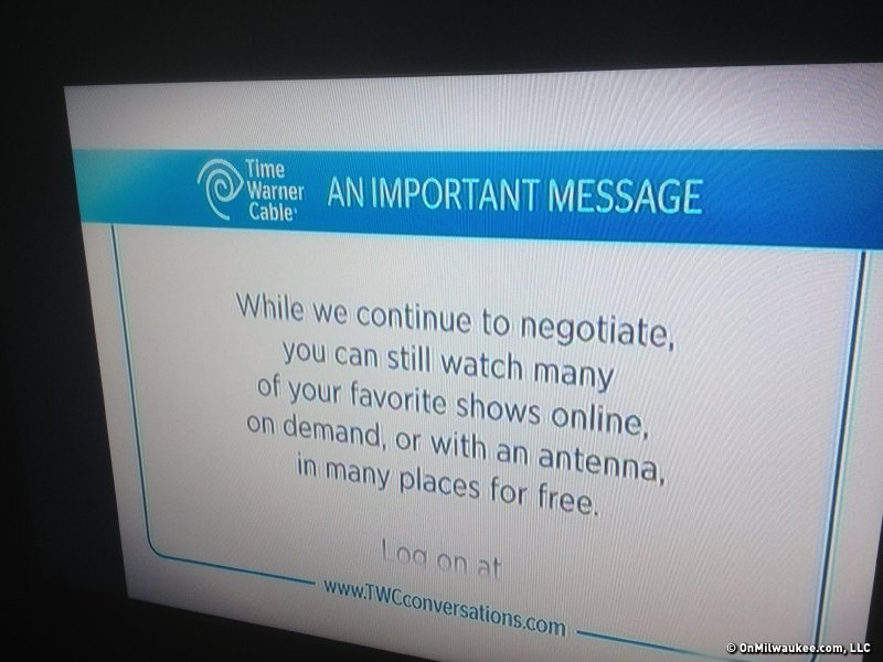 Time Warner Cable Plymouth Wisconsin: WTMJ-TV signal off air for Time Warner Cable customers - OnMilwaukeerh:onmilwaukee.com,Design
