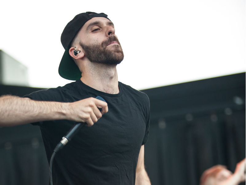 X Ambassadors proved by the end of their Summerfest set why they have the potential to be big.