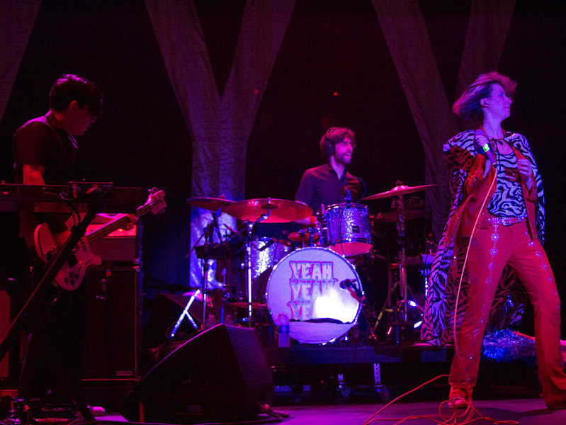 Yeah Yeah Yeahs rocked the Harley-Davidson Roadhouse Wednesday night.