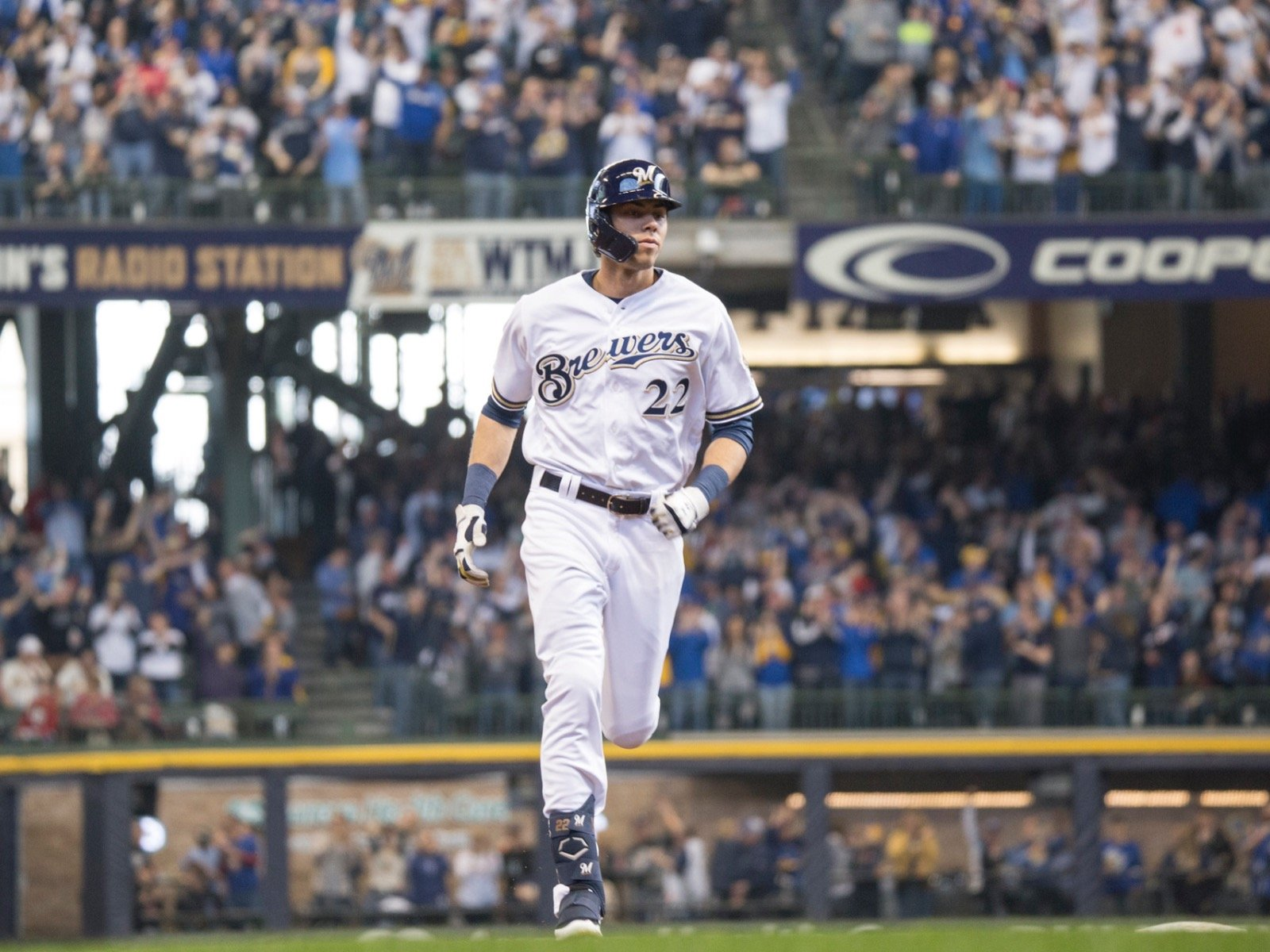 Brew-te force: Yelich is on pace for the best season in