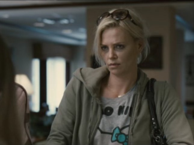 "Charlize Theron as Mavis Gary in ""Young Adult."""