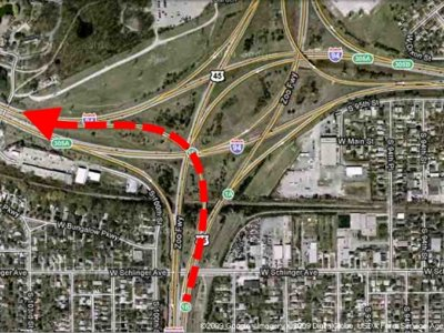 Zoo Interchange ramp closes tonight